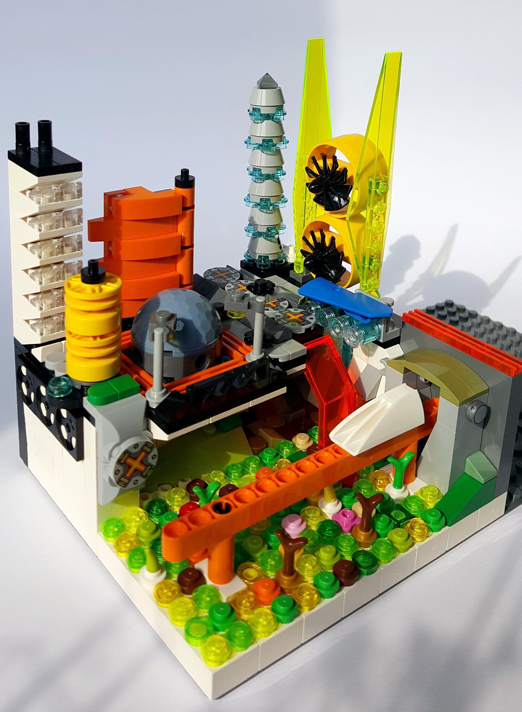 Concurs Microscale Future City – Creatia 5: Dystopian City