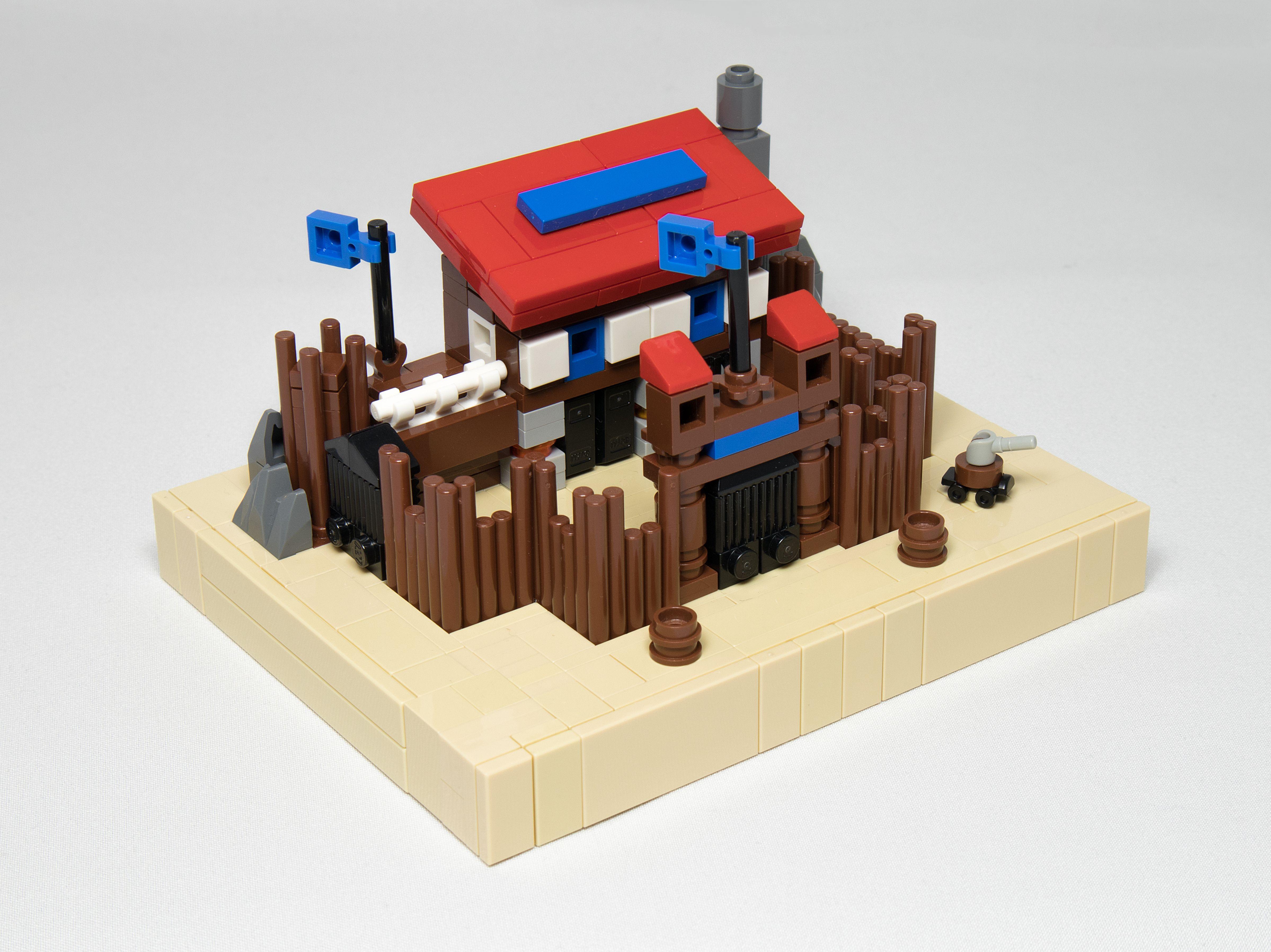Concurs Santa's Gifts – Creatia 2: Fort Legoredo